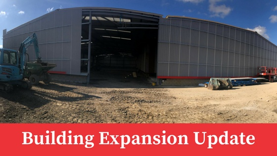 Construction Well Underway: Building Expansion